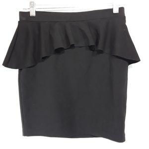 Candies peplum style mini skirt